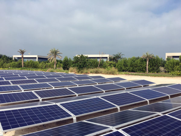 Enerwhere Solar Installation on South Beach of Zaya Nurai Island