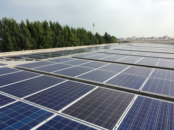 Enerwhere Rooftop Solar Installation on Zaya Nurai Island