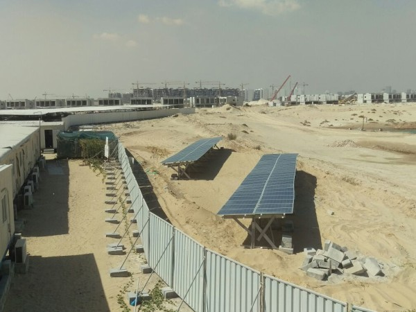 Mudon construction site