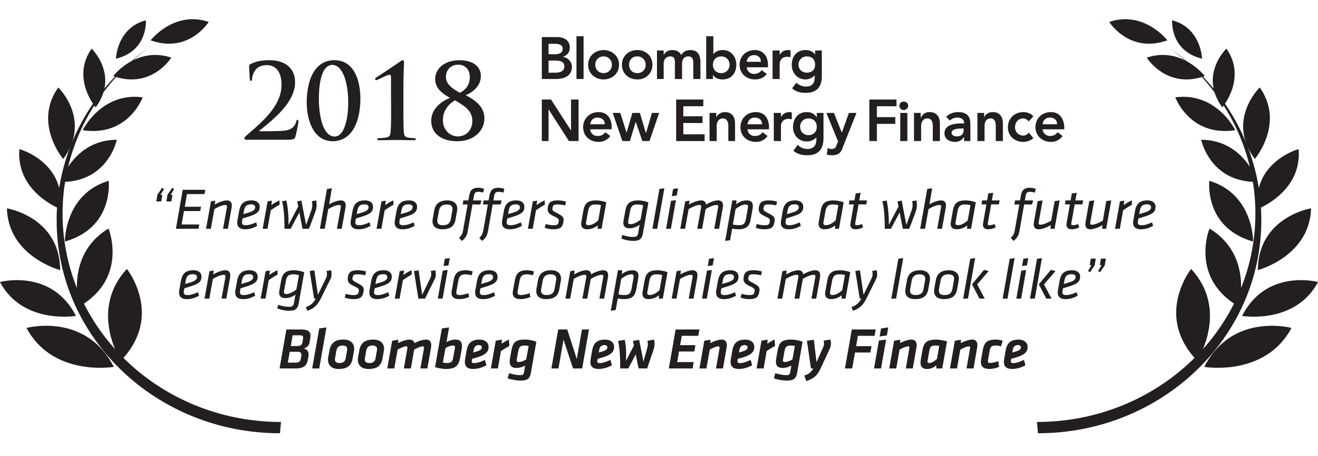 2018 BNEF Best Startup of the Year Enerwhere
