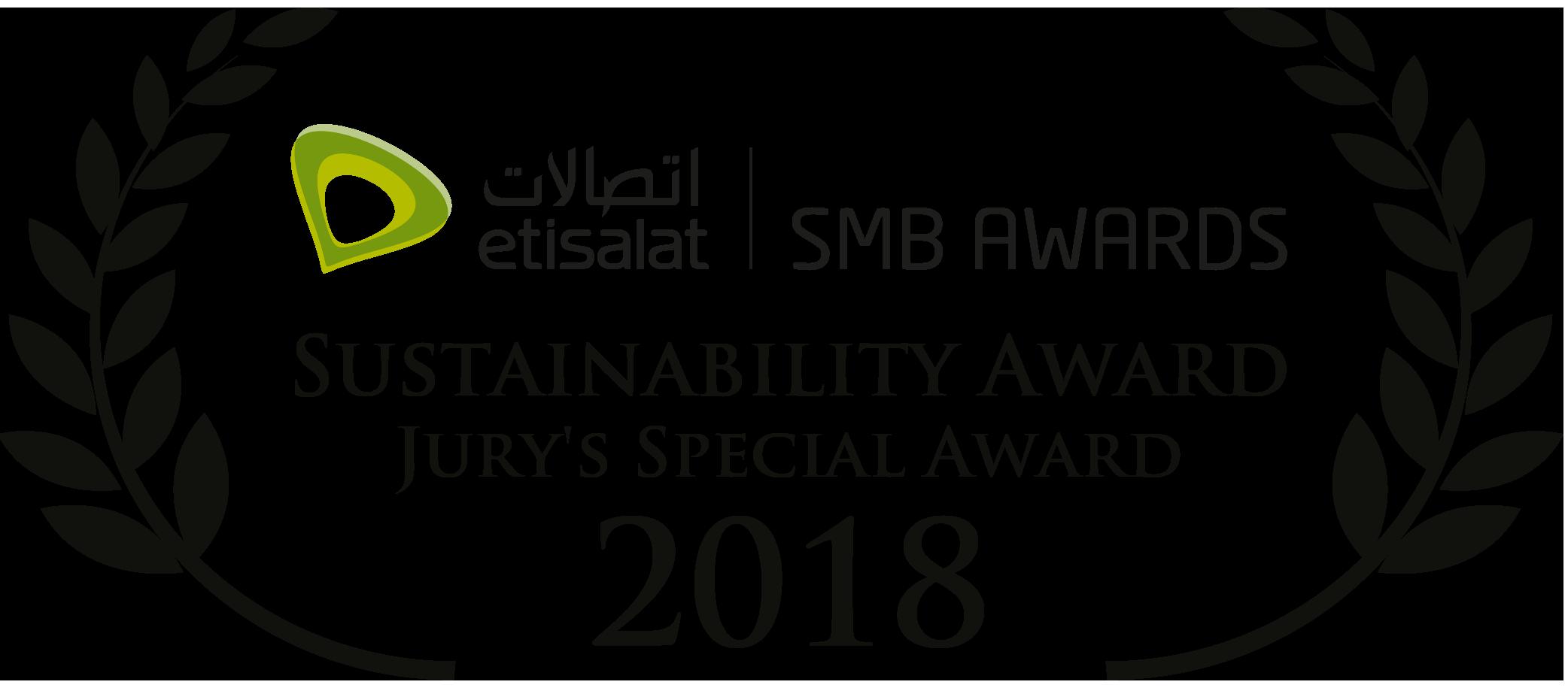 2018 Etisalat SMB Sustainibility Award Enerwhere
