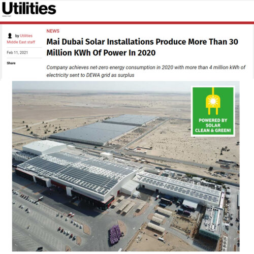 20210215 - Mai Dubai Rooftop Solar Power Plant Feed