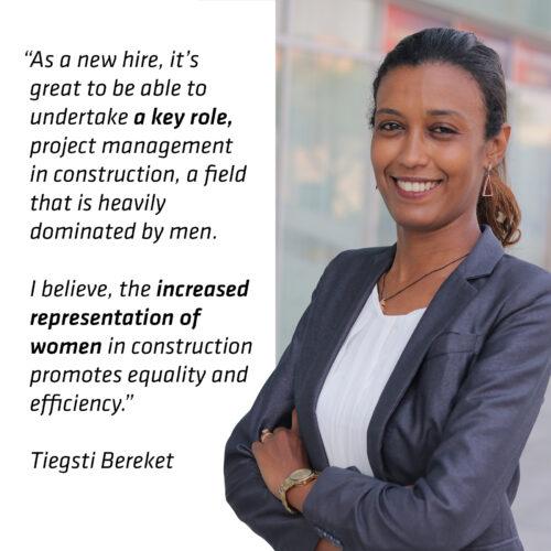 Representation of Women in Construction