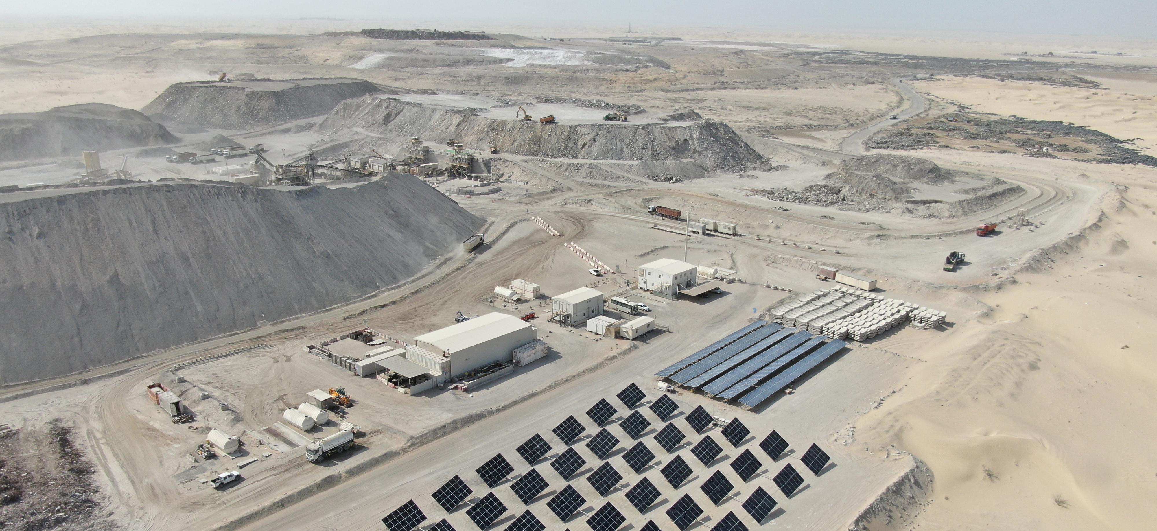Al Dhafra Recycling Industries Abu Dhabi Microgrid Renewables