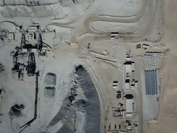Al Dhafra Concrete Crushing Plant with Solar System