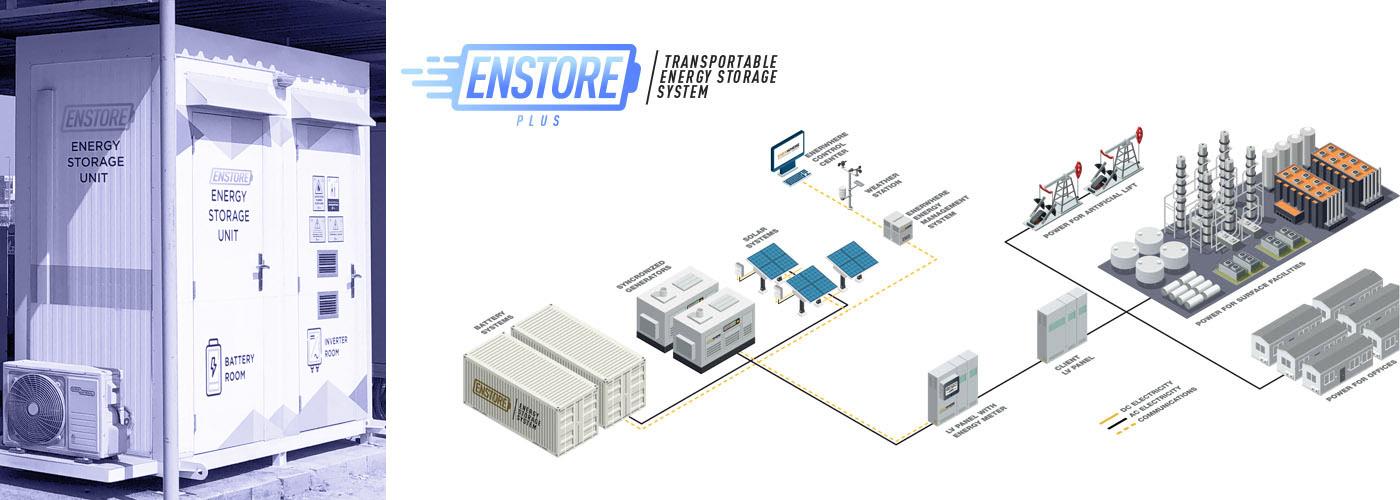 Enstore - Energy Storage Battery