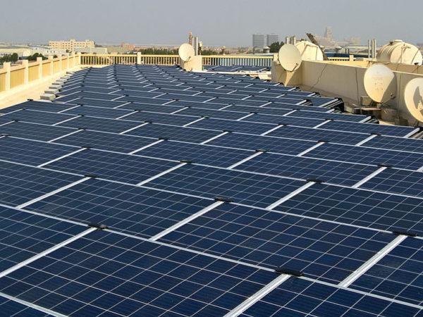 CMS Factory Ras Al Khaimah Solar Installation