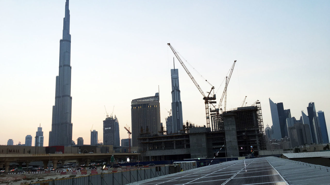 Multiplex Office at Dubai Mall Extension Construction Site in Zabeel