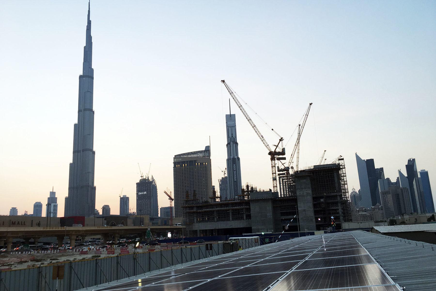 Multiplex Office at Dubai Mall Extension Construction Site in Zabeel