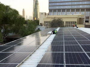 Enerwhere powers DIFC construction site with largest lithium-ion battery in the Middle East