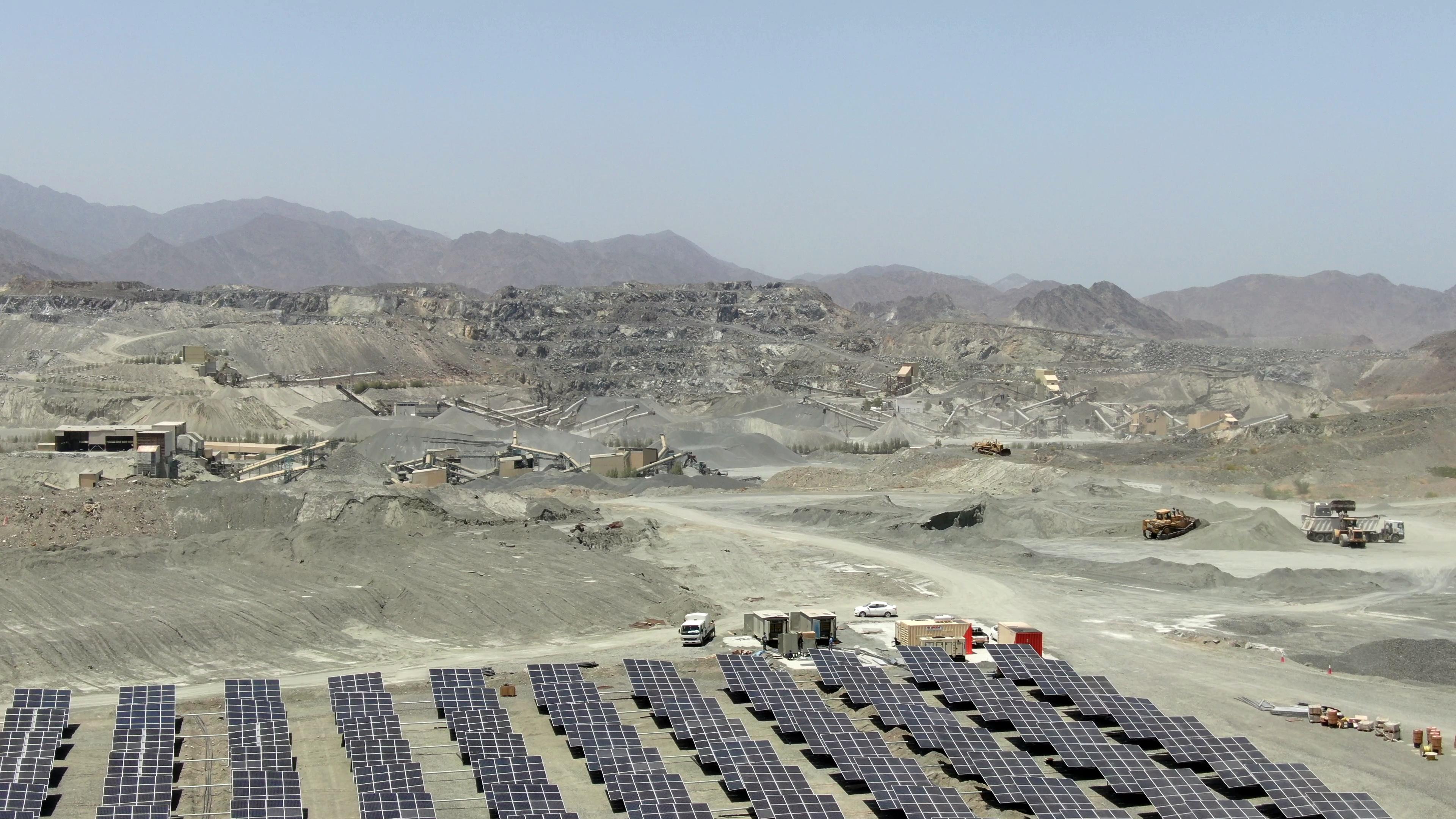 Doha Quarry Fujairah Solar Hybrid Microgrid